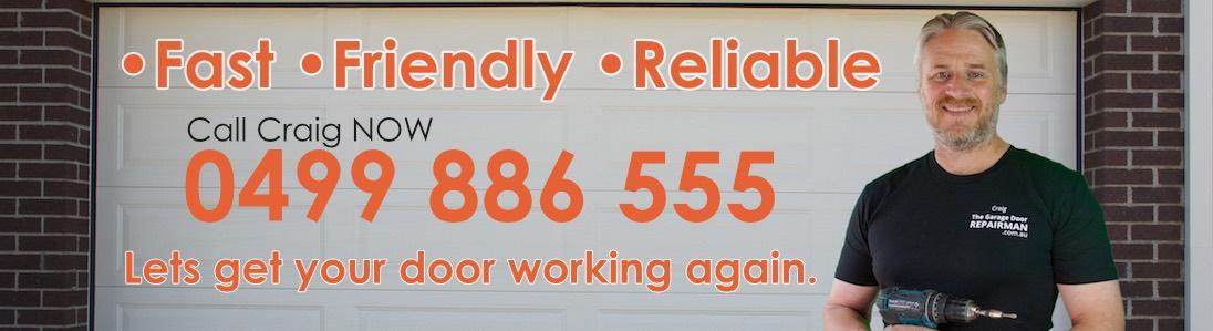 Garage Door Repairman Banner Image